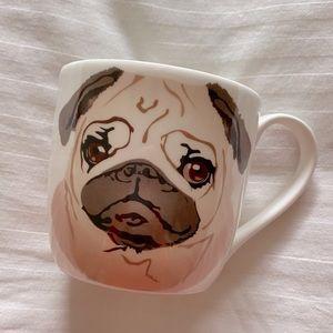 Rose of England Bone China Pug Mug